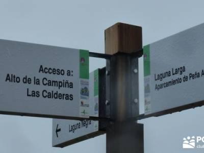 Lagunas de Neila;ruta senderismo;la pedriza mapa;callejones de las majadas